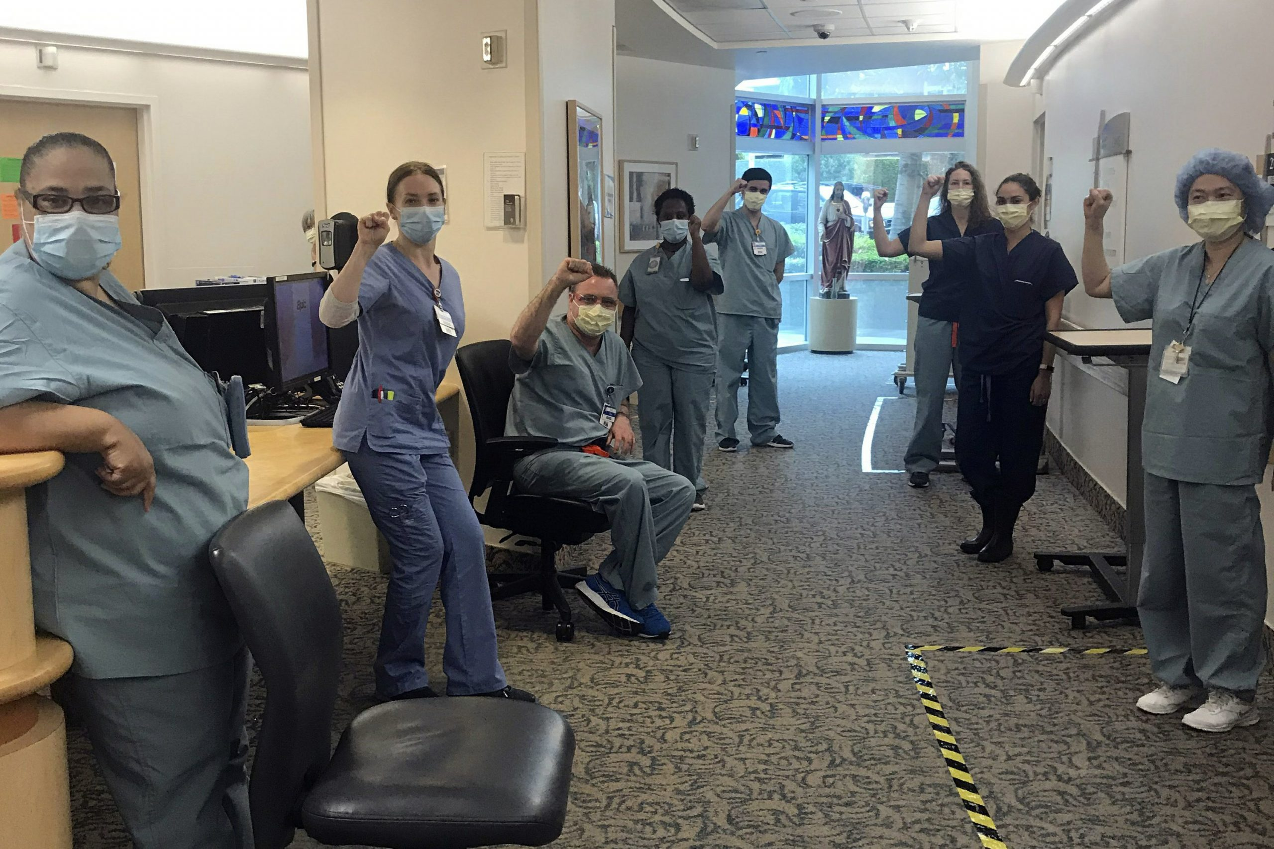Nurses suspended for refusing COVID-19 care without N95 mask