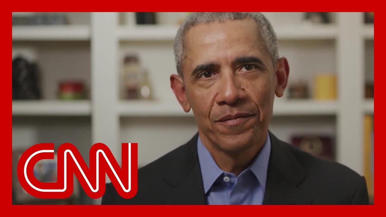 Obama breaks his silence, endorses Biden in video message