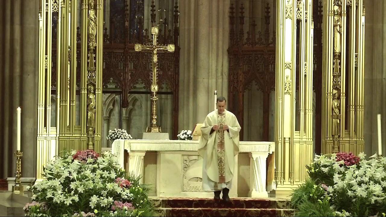 Saint Patrick's Cathedral Mass: Thursday, April 16
