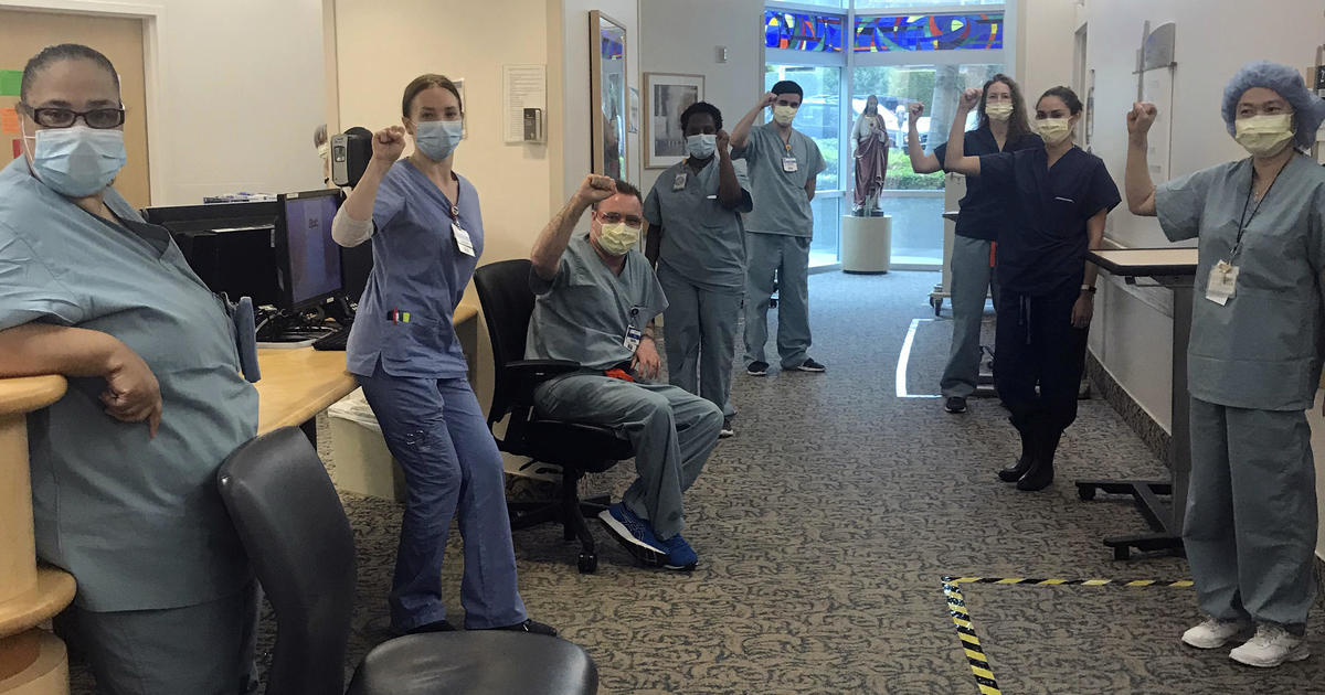 Nurses suspended for refusing to supply COVID-19 care without N95 masks
