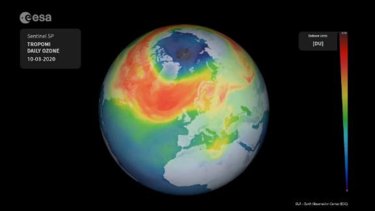 Hole in Arctic's ozone layer might be its biggest ever