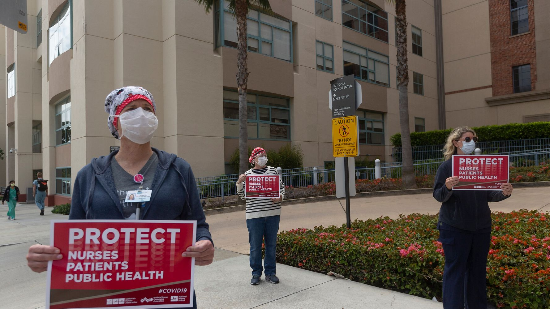 Nurses Suspended For Declining To Offer COVID-19 Care Without N95 Mask
