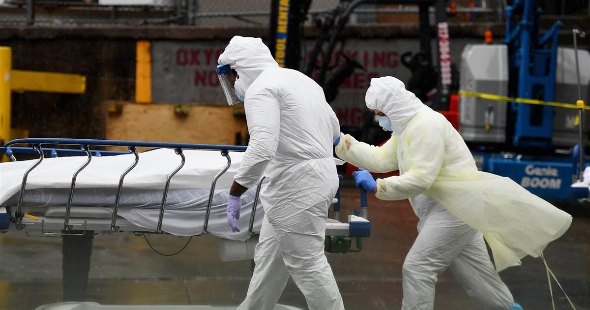 NYC medical residents treating coronavirus describe 'living a nightmare'