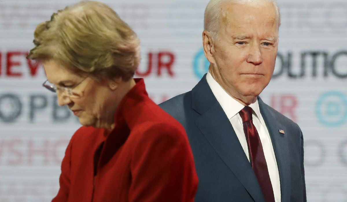 Elizabeth Warren states she will be Joe Biden's running mate if asked