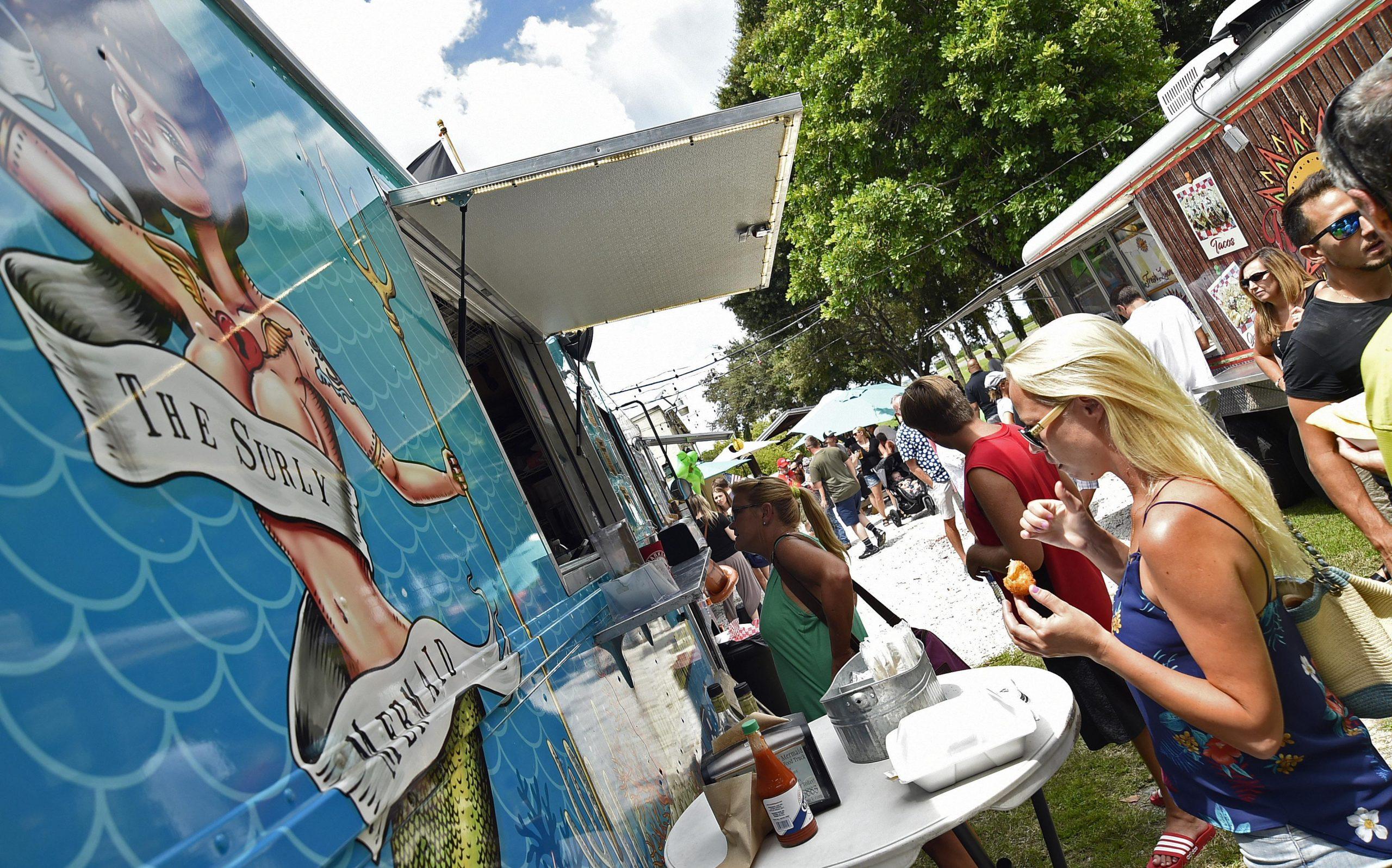 Coronavirus Florida: Venice opens three parks to food trucks -Tribune