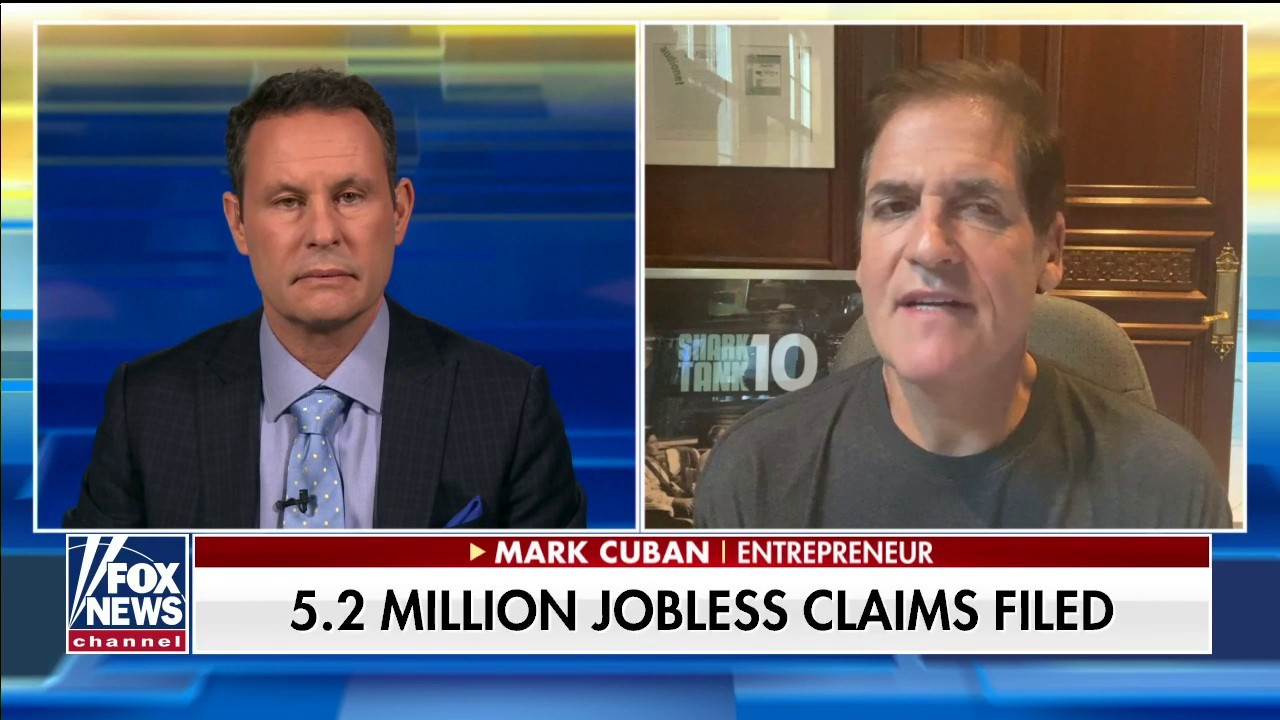 Mark Cuban's strategy to help small companies rebound from COVID-19 shutdown