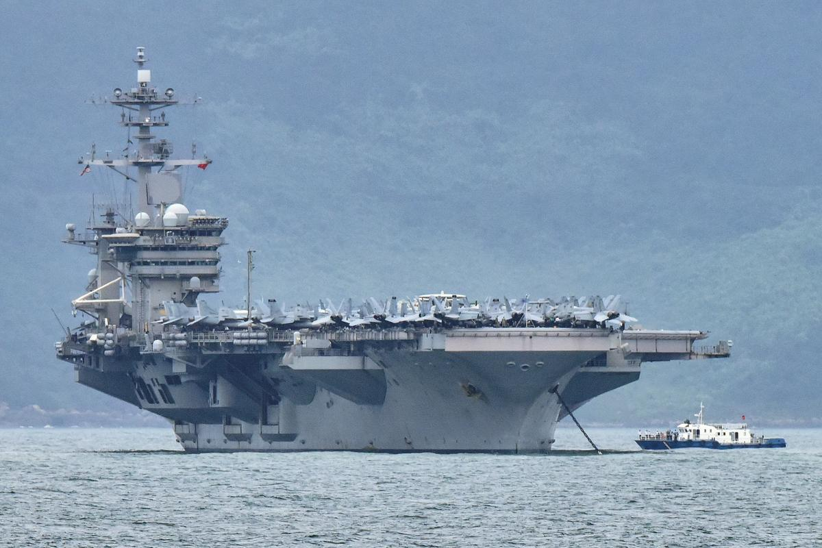 Coronavirus clue? Most cases aboard U.S. aircraft carrier are symptom-free