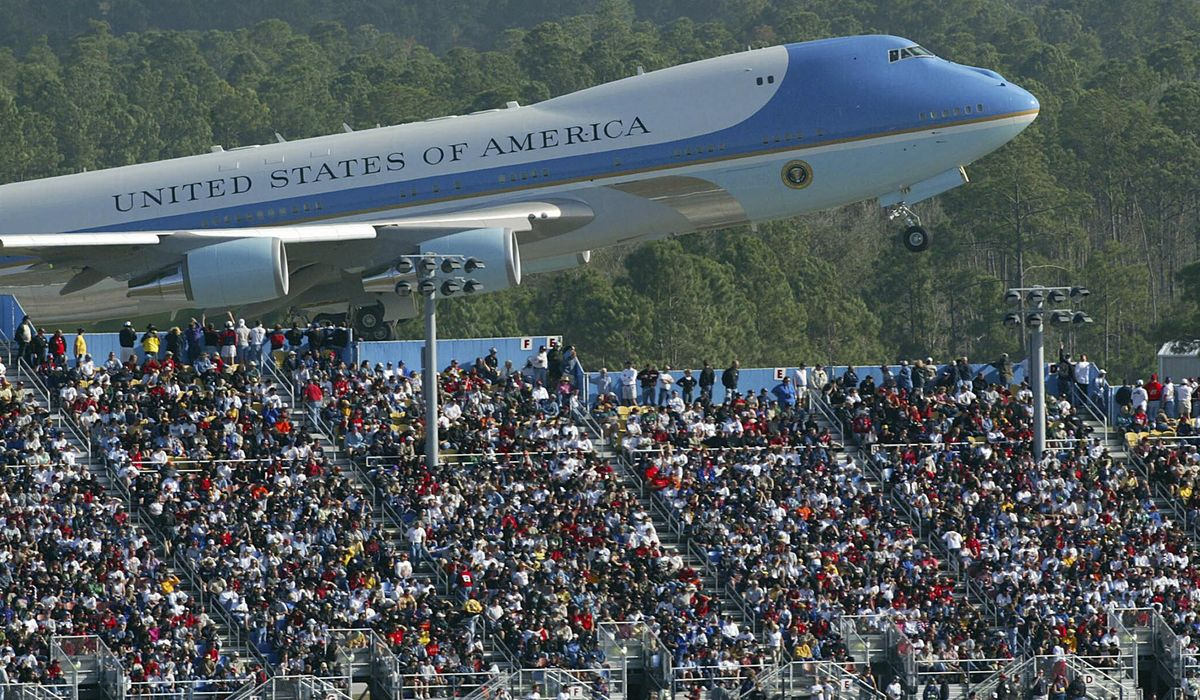 Flying Force One Instruction manual to cost $84 million