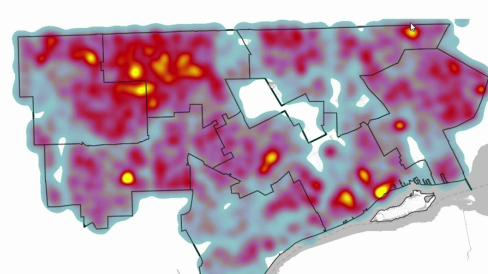 Heat map reveals Detroit neighborhoods hardest hit by coronavirus (COVID-19)