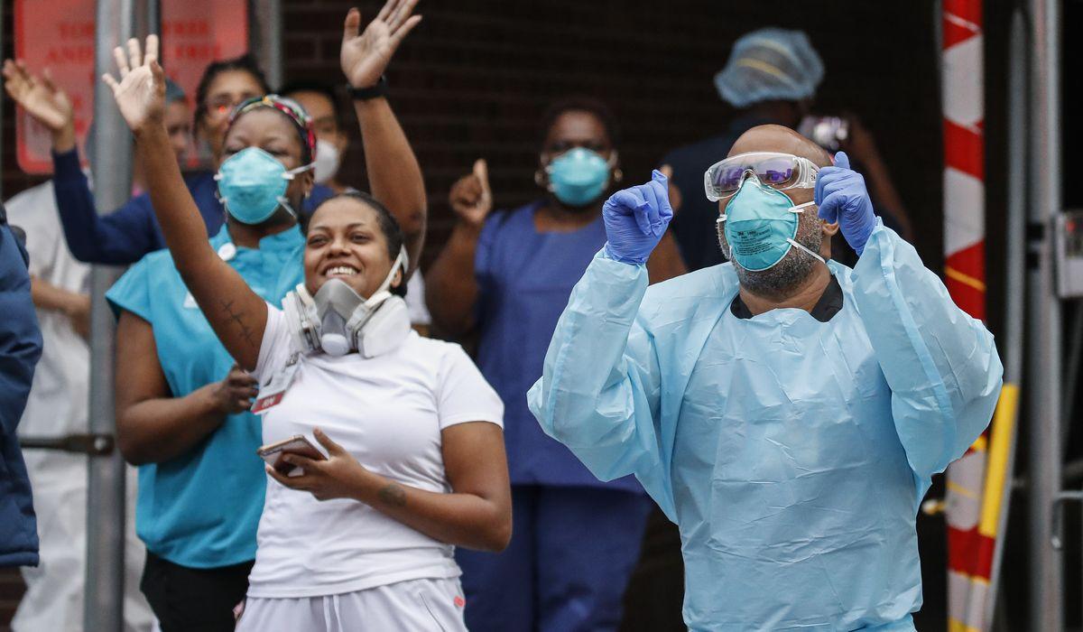 U.S. coronavirus projections miss mark as country ducks doomsday