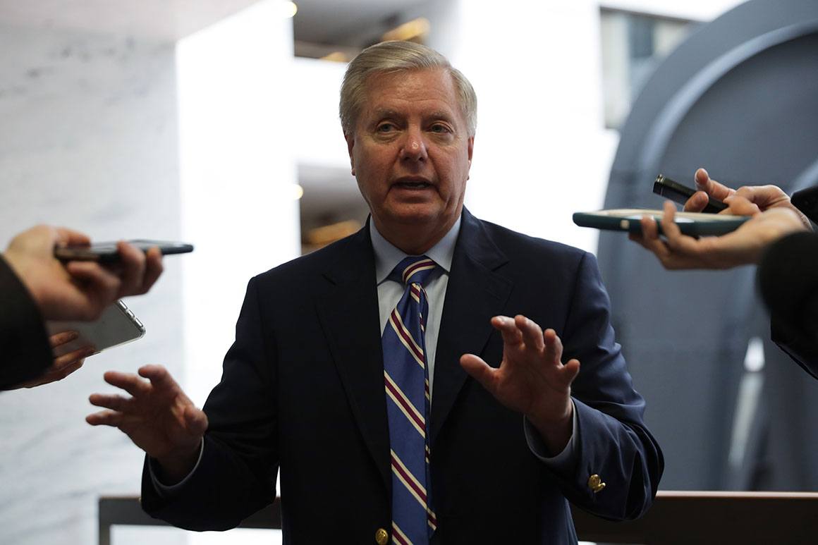 Graham contradicts Trump: U.S. 'still struggling with testing on a large scale'