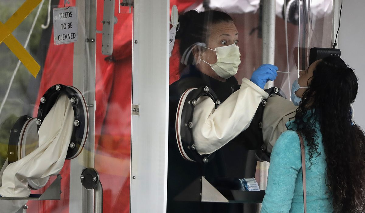 Coronavirus hot spot flareups spread economic-shutdown debate