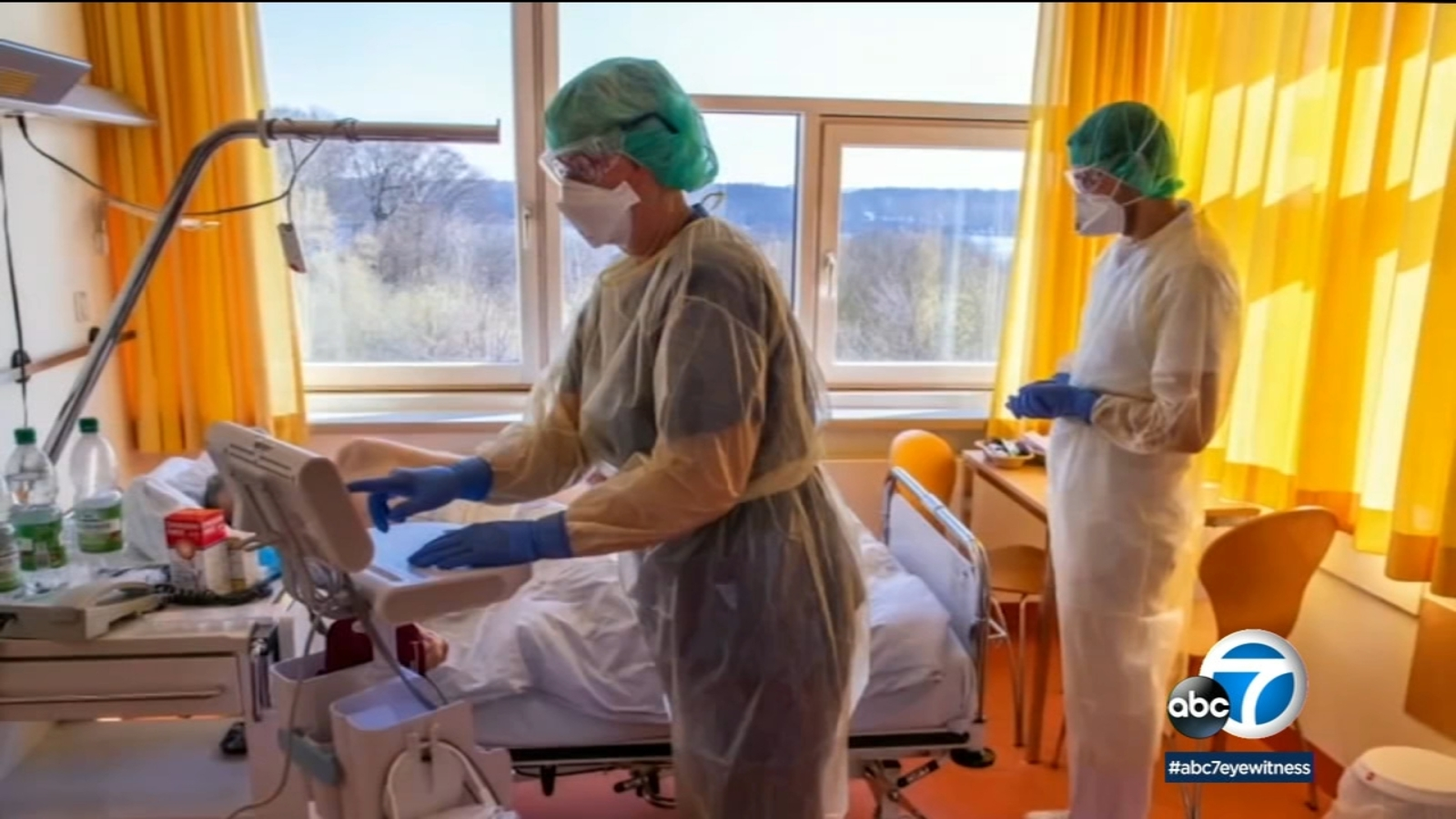 Placing most-critical coronavirus patients on their stomachs can help with breathing, doctors find -TV