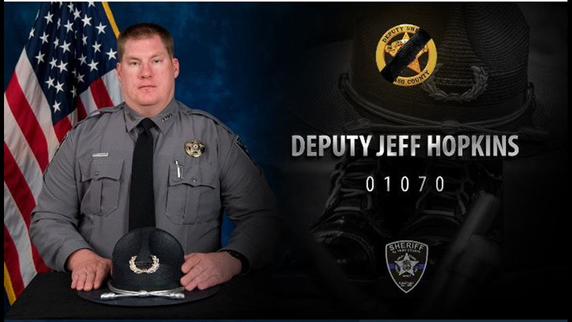 Deputy's death from COVID-19 happened in the line of duty, health department finds