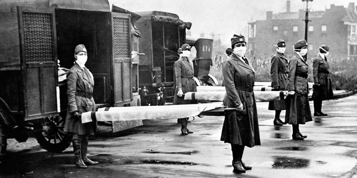 How the United States managed the Spanish Flu pandemic in 1918 and 1919