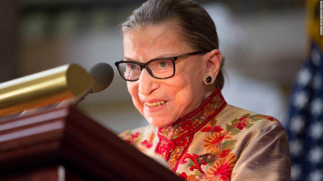 Ruth Bader Ginsburg 'resting comfortably' after nonsurgical treatment for benign gallbladder condition Tuesday
