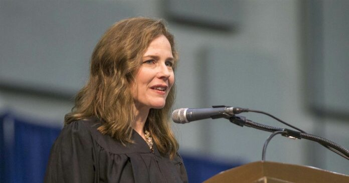 Amy Coney Barrett emerging as a front-runner to fill Ginsburg's Supreme Court seat