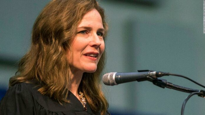 Amy Coney Barrett has emerged as Trump's favorite