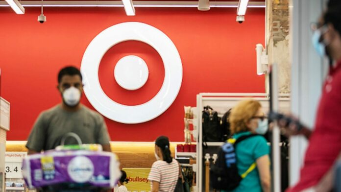 Anti-mask protesters march through Florida Target, yell: 'Take off your mask!'