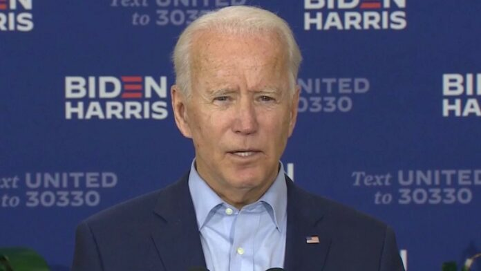Biden says the next person elected president should choose Ginsburg's replacement