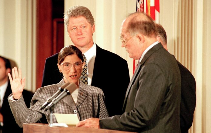 Bill Clinton shares statement, photo after Ginsburg death