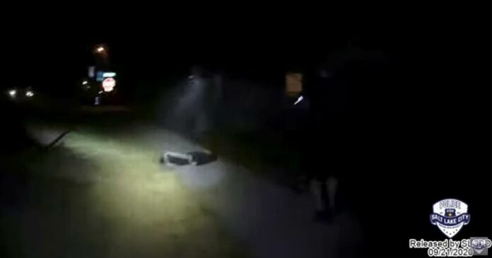 Bodycam video shows Utah police shooting teen after mom called 911 to have him hospitalized