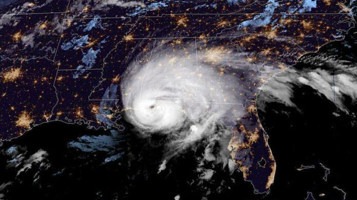Category 2 Hurricane Sally Makes Landfall Near Alabama-Florida Line