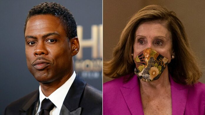 Chris Rock rips Pelosi, Dems: 'You let the pandemic come in' during impeachment