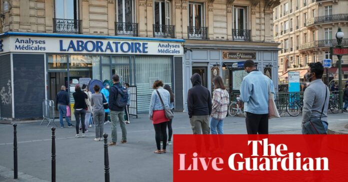 Coronavirus live news: France sees record new cases; virus may be becoming more contagious