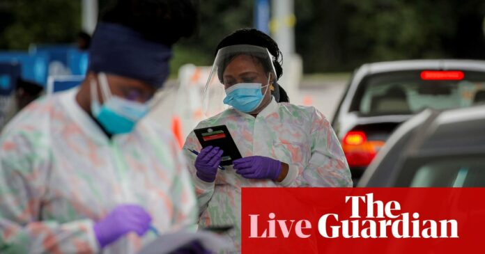 Coronavirus live news: US nears 200,000 deaths as England pubs face curfew