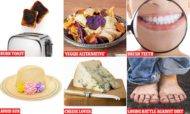 Cut your risk of cancer: Brush your teeth, don't burn your toast, says PROFESSOR ROBERT THOMAS
