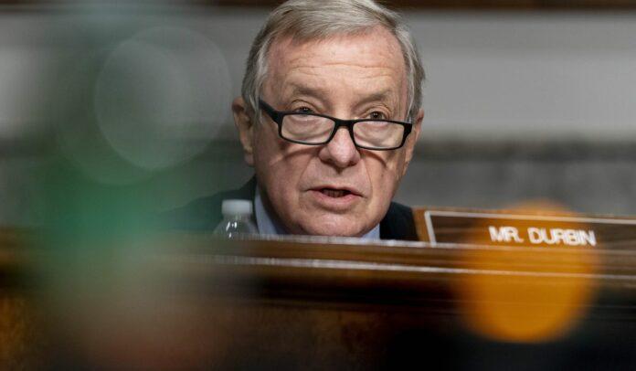 Dick Durbin dings Amy Coney Barrett on ending Obamacare