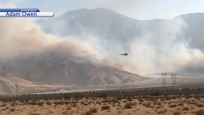 Evacuation orders issued for 1200 acre fire at Snow Creek in Palm Springs