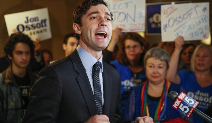 Georgia Senate race becomes cash contest pitting Wall Street vs. Silicon Valley