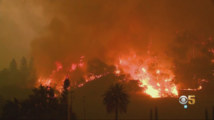 Glass Fire Update: Residents Flee Area Around St. Helena; New Boysen, Shady Fires Force Evacuations Near Santa Rosa; Wall Of Flames Jumps Silverado Trail