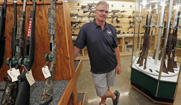 Gun sale surge aimed at defense set to break record