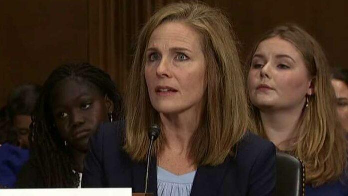 House Republicans urge Trump to nominate Amy Coney Barrett to Supreme Court