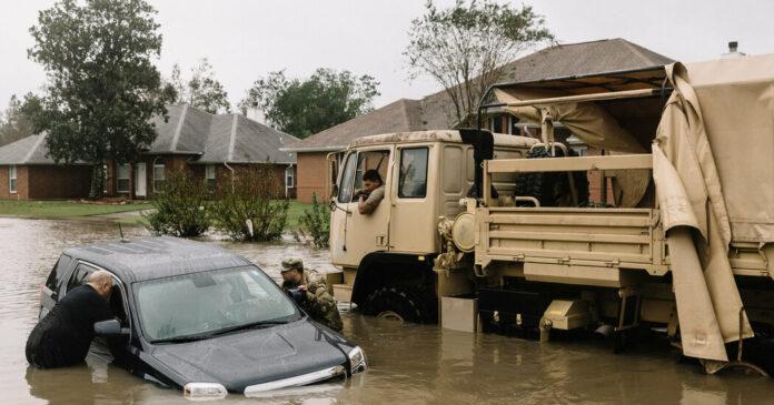 Hurricane Sally Slams the Florida Panhandle With Deluge of Rain