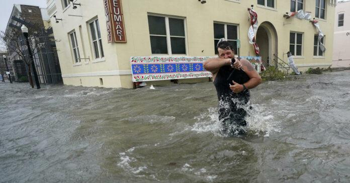 "Hurricane Sally unleashes ""catastrophic and life-threatening"" flooding along Gulf Coast"