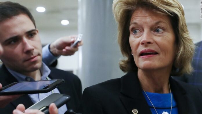 Key GOP senator says she opposes taking up a Supreme Court nomination before Election Day