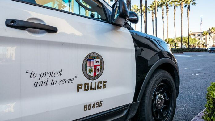 LAPD officer 'grazed' in head by bullet inside police station; suspect in custody: reports