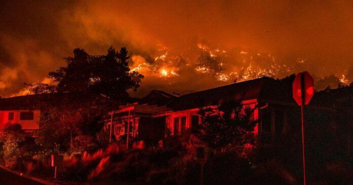 Multiple wildfires in California prompt fresh evacuations