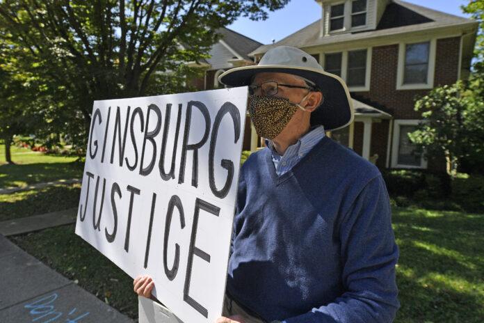 Protests over Supreme Court vacancy target homes of top GOP lawmakers