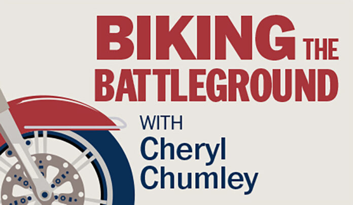 Special Section: Biking the battleground: Canvassing America's voters