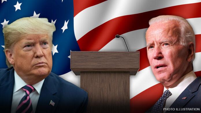 Supreme Court fight front and center at Biden-Trump debate
