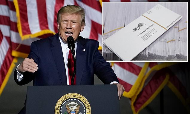 Temporary contractor 'threw Trump ballots in the trash' Pennsylvania county officials