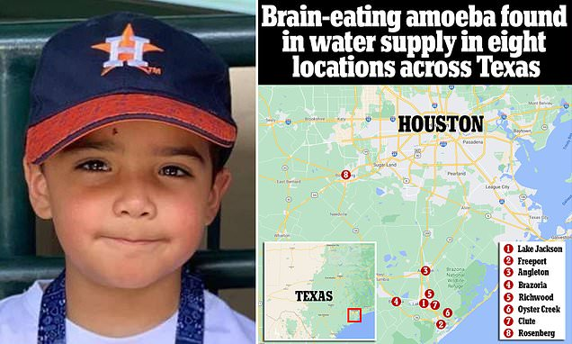 Texas city told NOT to use tap water because it could be contaminated with a brain-eating amoeba