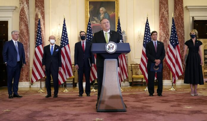 Trump imposes Iran 'snapback' sanctions as Tehran scolds U.S.
