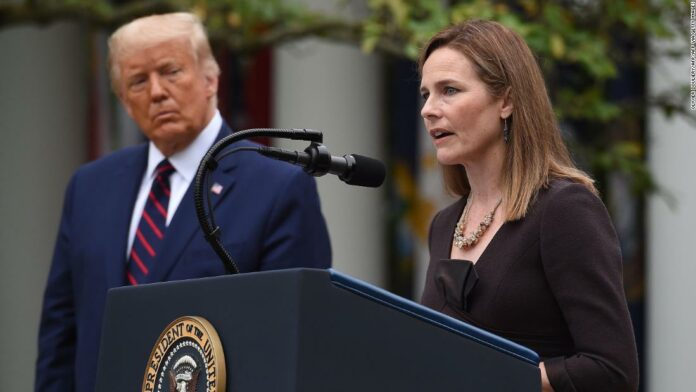 Trump nominates Amy Coney Barrett as Supreme Court justice