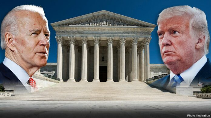 Trump predicts Supreme Court will decide outcome of election as he pushes quick confirmation